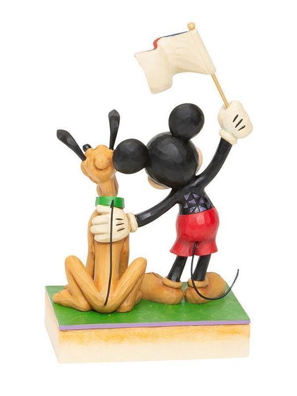 Mickey Mouse et Pluto - Rêve américain
