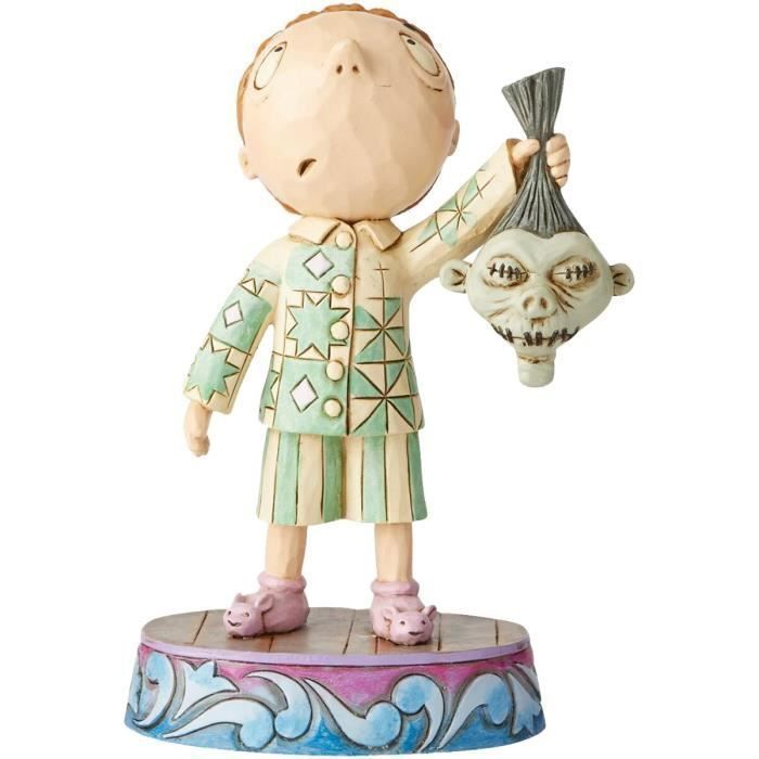 Timmy with shrunken head