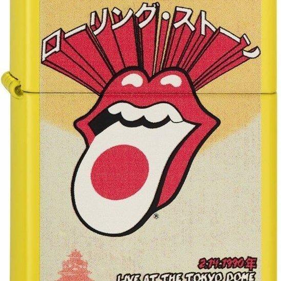 Zippo Rolling Stones Jaune