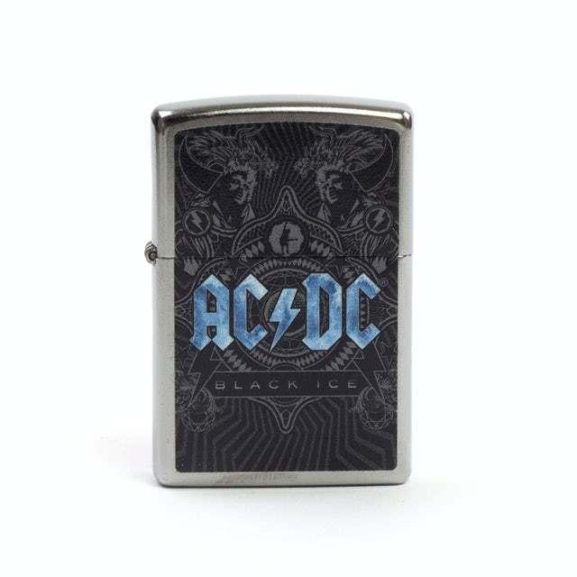 Zippo ACDC - Black Ice