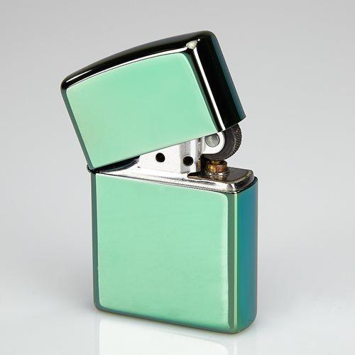 Zippo Polish Green