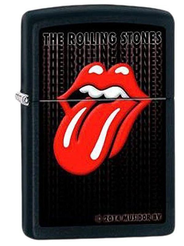 Zippo Rolling Stones noir