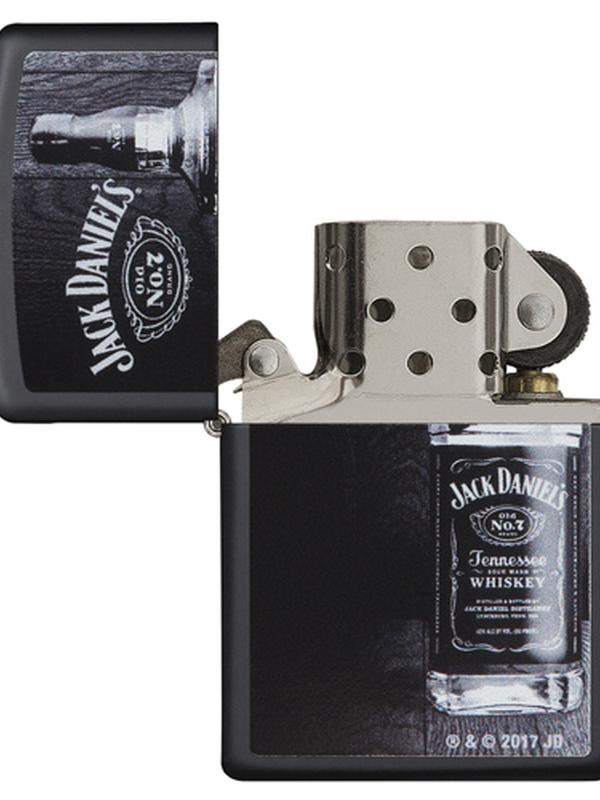 Zippo Jack Daniel's noir