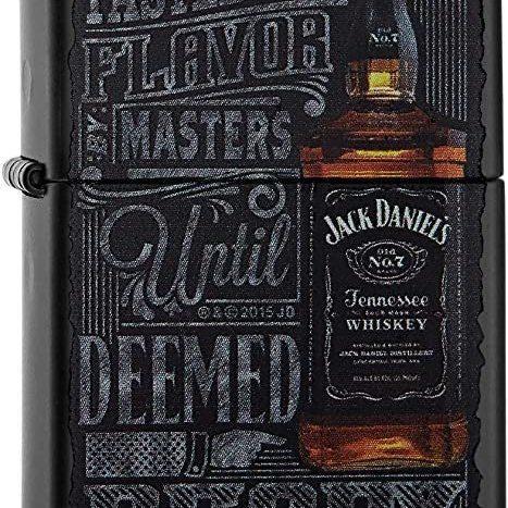 Zippo Jack Daniel's - Noir