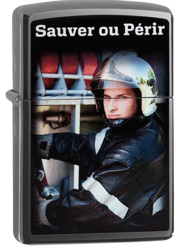 Zippo Pompier - Sauver ou Périr