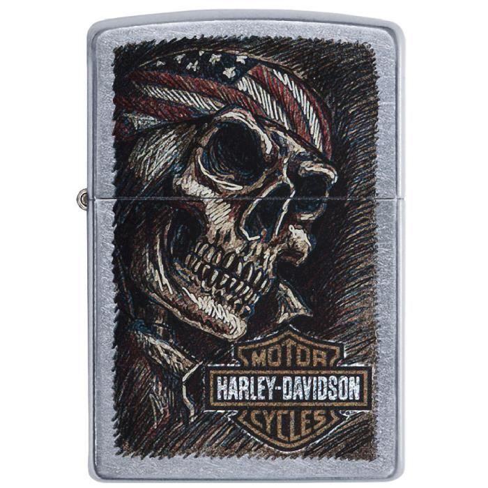 Zippo Harley Davidson - Skull