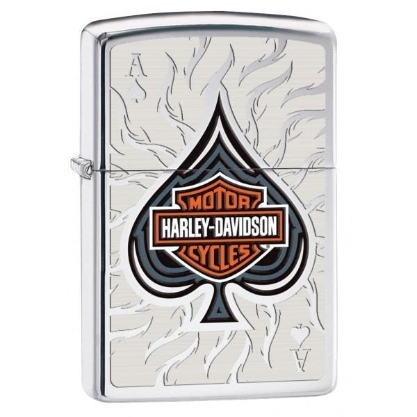 Zippo Harley Davidson - As de Pique