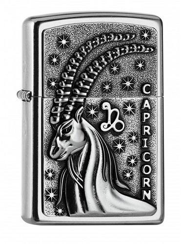 Zippo Capricorne - Signe Zodiaque