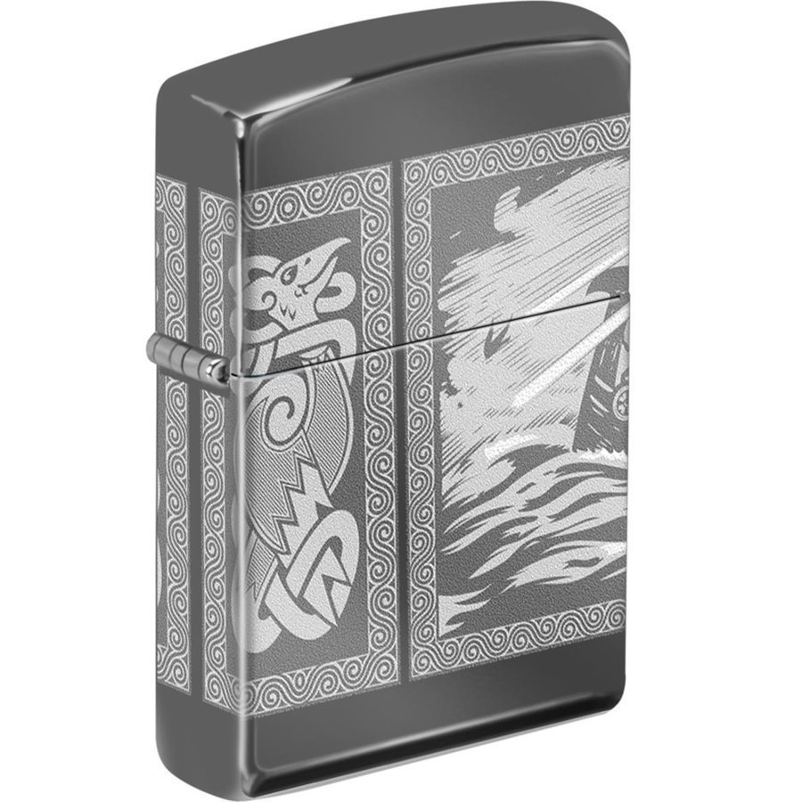 Zippo Viking - Drakkar Design