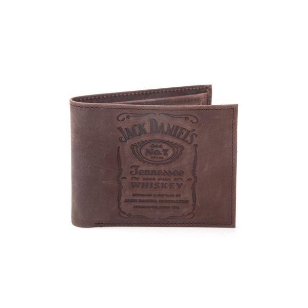 Portefeuille Jack Daniel's - Brun