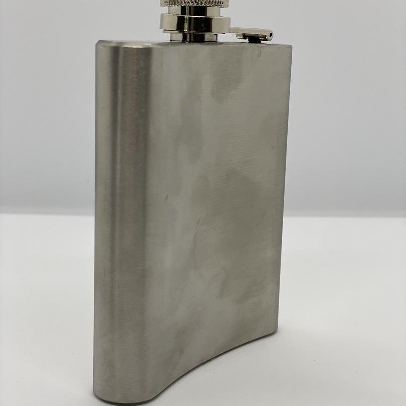 Flask Jack Daniel's - Chrome brossé