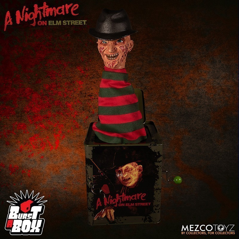 Freddy Krueger - Burst-A-Box
