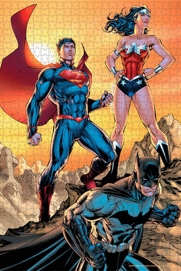 Puzzle Justice League