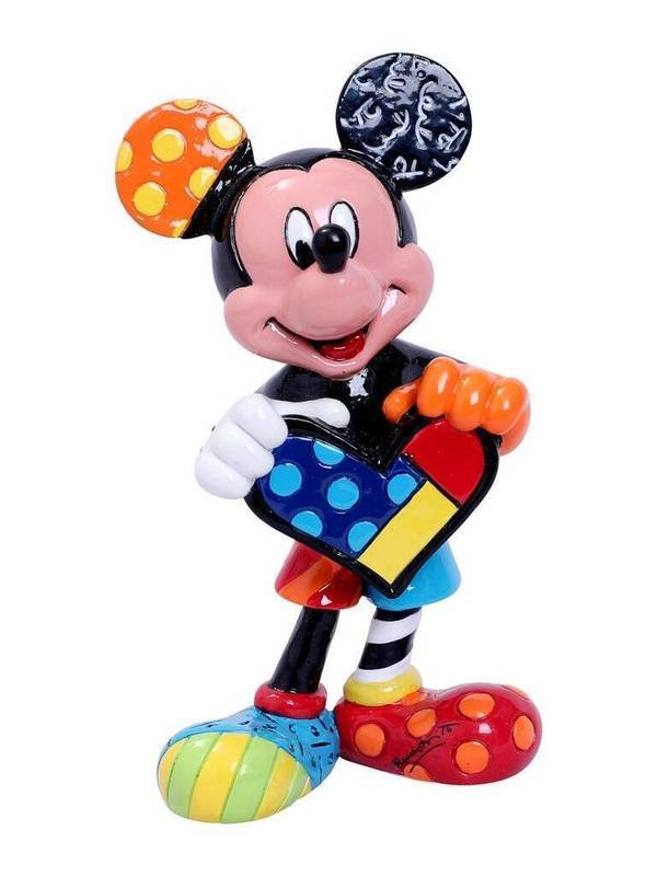 Mickey Mouse avec coeur