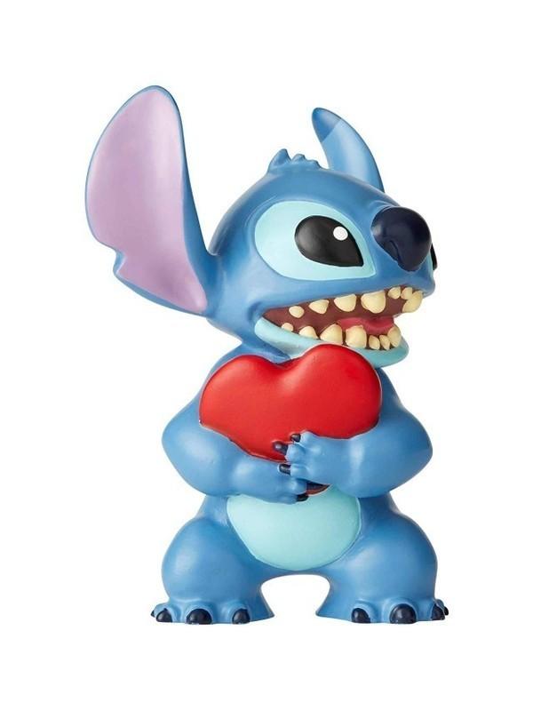 Stitch tenant un coeur