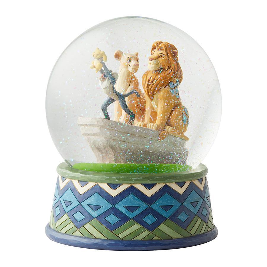 Boule à paillettes Roi Lion