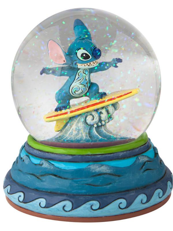 Boule à paillettes Stitch Surf