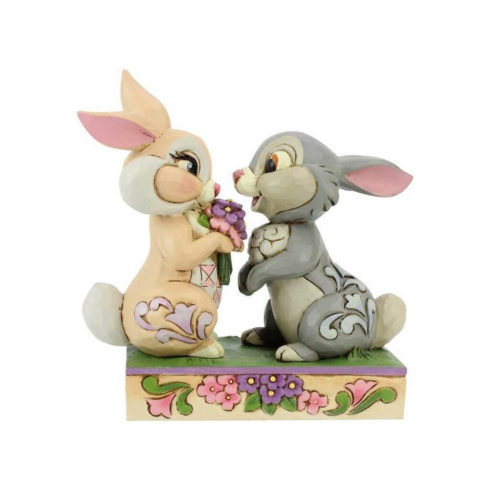 Pan-Pan et son amoureuse Miss Bunny